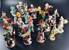 14 x Circus Clown Collectable Figure Figurine Ornament Resin MULTI LISTING