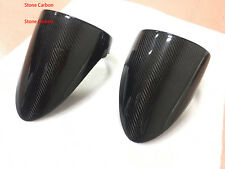 Carbon Fiber Rear Tail Light Covers 2x2 Twill Weave For Ferrari 458