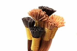 """Indian Itip Mirco beads Remy Hair extensions Double Drawn 10-11"""" 25Pcs"""
