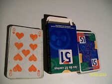 JEU DE 32 CARTE  PASTIS 51 DECK CARD ADVERTISING ALCOOL NOT RICARD