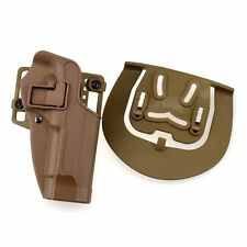 Hot Sale Right Hand CQC Waist Paddle Belt Loop Pistol Holster For Beretta M92