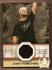 2011 Topps UFC Moment of Truth Fighter Relics Card #FGJK Josh Koscheck