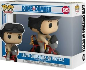 Funko - POP Ride: Dumb & Dumber- Lloyd w/ Bicycle Brand New In Box