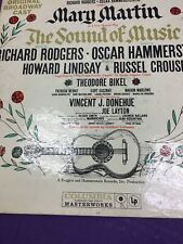 The Sound Of Music Original Broadway Cast Richard Rodgers , LP Record