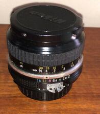 Nikon NIKKOR  50 mm f/1:2 Manuel Lens