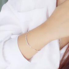 Simple Style Small Silver Bead Bracelets Charm Bracelet Women Bracelets Z