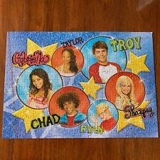 High School Musical 300 piece puzzle Disney Glitter & Glow Used Age 6 +