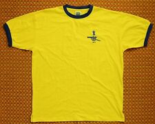 1971 Arsenal, Retro Yellow Shirt by Score Draw, Mens XXL, #11