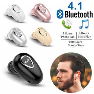 Mini Wireless Bluetooth 4.1 Stereo In-Ear Headset Earphone For Samsung iPhone LG