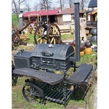 Smith`s hand made heavy duty barbecue and smoker grill BBQ