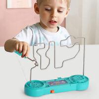Kids Children Nerve Buzz Game Wire Skill Maze Adult Steady Hand Family Fun Toy W