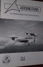 Air Britain Aeromilitaria 1998 No3 SIPA
