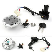 Ignition Switch Seat Gas Cap Cover Lock Key Set For Yamaha XVS1300CU XVS1300/BU