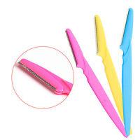 3pcs Women Eyebrow Face Lip Hair Remover Trimmer Blade Knife Razor Shaver