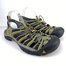 Keen Newport H2 Waterproof Sandal Mens Size 12 Olive Black