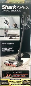 NEW - Shark APEX DuoClean Corded Stick Vacuum Cleaner, Self-Cleaning Brush Roll
