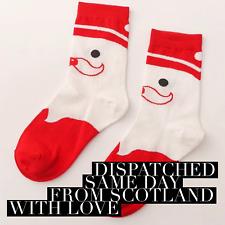 Festive Christmas Socks crew cotton santa polar bear tree stocking filler gift