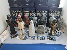 ROBERT HARROP DOCTOR WHO  ELEVEN LIMITED EDITION FIGURES  NEW AND BOXED