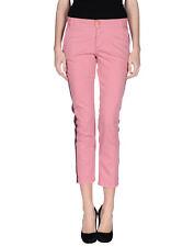 ROSAM CAPE Denim Capri Trousers Size 26 Stretch Garment Dye Made in Italy