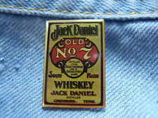 Pin Jack Daniels Old No. 7 Whiskey Old Time Tennessee USA