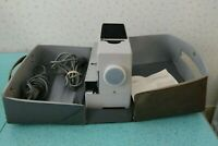 Vintage 1961 Braun D40 Slide Projector and Assessories