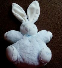 """Kaloo Chubby Bunny Rabbit Blue 9"""" Teddy baby soft toy plush  New without tags"""