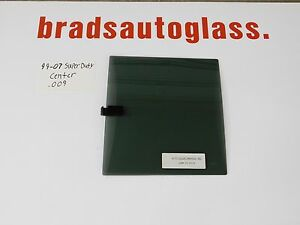 99-07 Ford F250 Super Duty CENTER EZINSTAL sliding rear window back glass slider