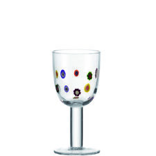 Millefiori White Wine Gl By Leonardo