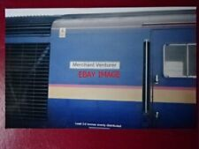 PHOTO  NAMEPLATE MECHANT VENTURER CLASS 43 HST 43125