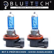2x H16 SUPER WHITE BLUETECH® GLÜHLAMPEN 19W  7500K Xenon Optik PGK19-3