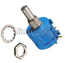 3590S-2-501L 500 Ohm Rotary Wirewound Precision Potentiometer Pot 10 Turn