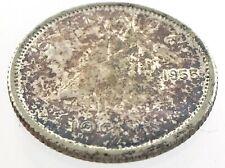 1955 Canada Ten 10 Cent Silver Dime Canadian Uncirculated Elizabeth II Coin M088