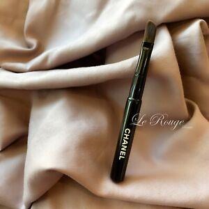 Chanel mini angled eyeliner / lip lipstick brush Travel size brand new