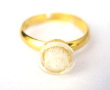 Glittery Stud Ring Made with LEGO brick Engagement Wedding proposal diamond gift