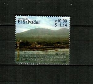EL SALVADOR Scott's 1619 ( 1v ) Puerto de San Carlos F/VF Used ( 2005 ) #3