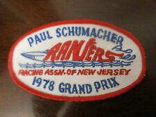VINTAGE PATCH - PAUL SCHUMACHER 1978 GRAND PRIX