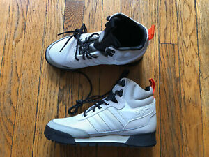 NEW Adidas Originals Baara Cream White Black Orange Boot EE5526, Men's 7