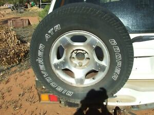 1997 2000 Ford Explorer wagon spare wheel carrier holder tow bar complete