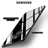 COVER per Samsung S7 S8 S9 / Plus Note 9 ORIGINALE Crystal RETRO VETRO TEMPERATO
