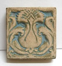 Batchelder Vintage Tile with Pineapple/Blue