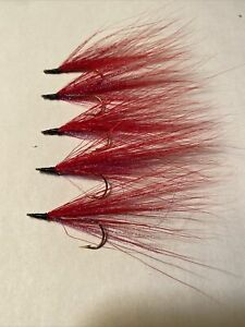 Bucktail River Streamer Flies- Hand Tied - Walleye and White Bass (22)