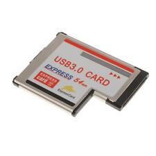 54mm Express Carte à 2 Port USB 3.0 Adaptateur NEC Chip Pour Ordinateur