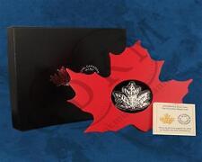 Kanada - Maple Leaf - Cut out - 20 $ 2015 PP Silber