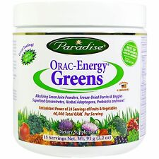 ORAC-Energy Greens - 91g by Paradise Herbs - Antioxidant Fruit & Veg Supplement