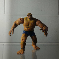 "The Thing Fantastic Four Marvel Legends series 2 6"" figure Toy Biz"