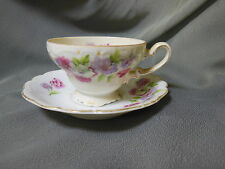 Antique MEIKO CHINA Cup & Saucer M.T.  MADE IN JAPAN