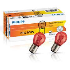 Philips pr21/5w 12v rojo Vision luz freno final lámpara 2st. 12495cp