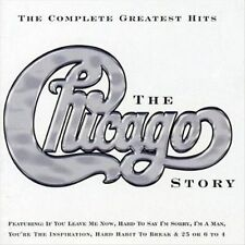 The Chicago Story: The Complete Greatest Hits [Single Disc] by Chicago (CD,...