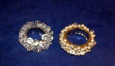 I Love It!!! Vintage Chunky Clear Lucite Balls Cha Cha Expansion Bracelet Plus