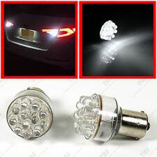 2pcs 1156 White 12-LED Light Bulbs for Backup Reverse Back up 7506 BAY15d